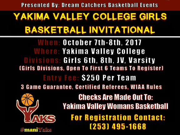 YAKIMA VALLEY COLLEGE Invitational