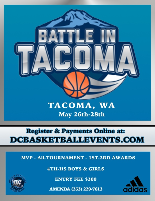 Battle in Tacoma Flyer