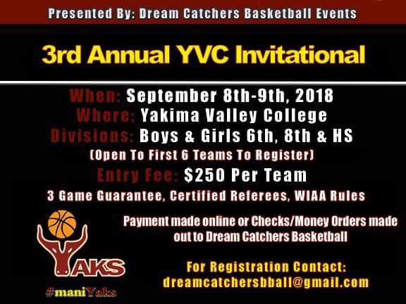 YVC INVITATIONAL FLYER